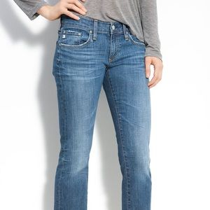 Anthro AG Jeans The Tomboy Relaxed Straight